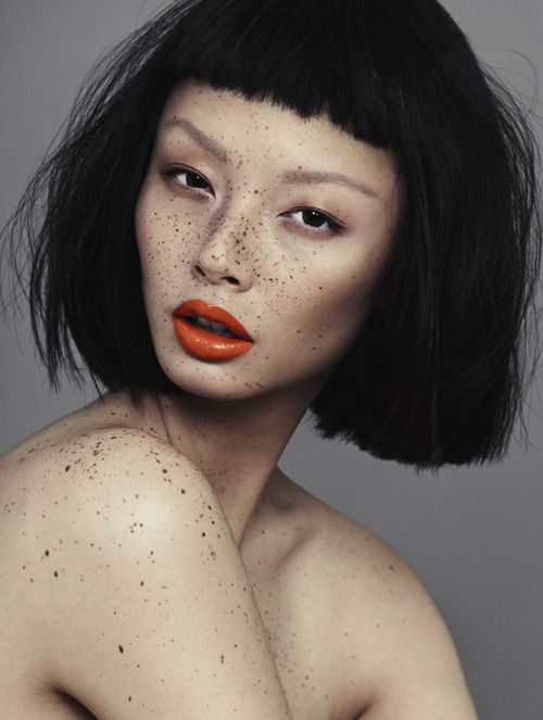 'Speckled' - Alice Ma by Alex Evans for V Magazine