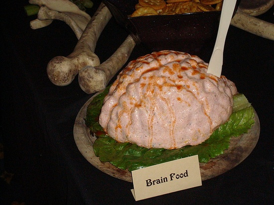 Brain dip #halloween #party #decoration