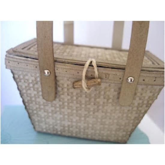 Stampin' Up Petite purse die www.stampingdoc.b...