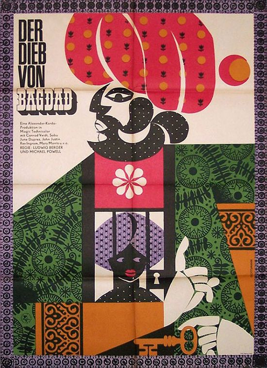 THE THIEF OF BAGDAD / Michael Powell and Ludwig Berger, UK, 1940