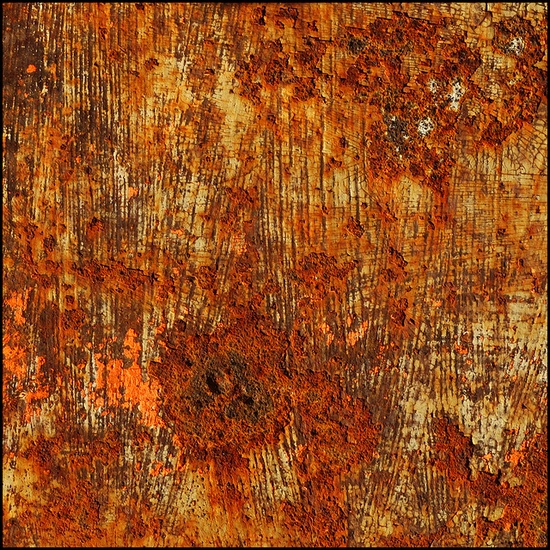 Rust composition.