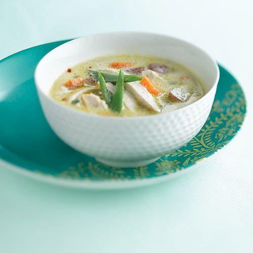 Chicken-Coconut Soup