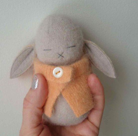 Felt bunny-how cute