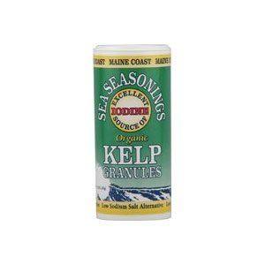 Maine Coast Sea Vegetables Organic Kelp Granules Salt Alternative - Great Sprinkled on Steamed Vegetables