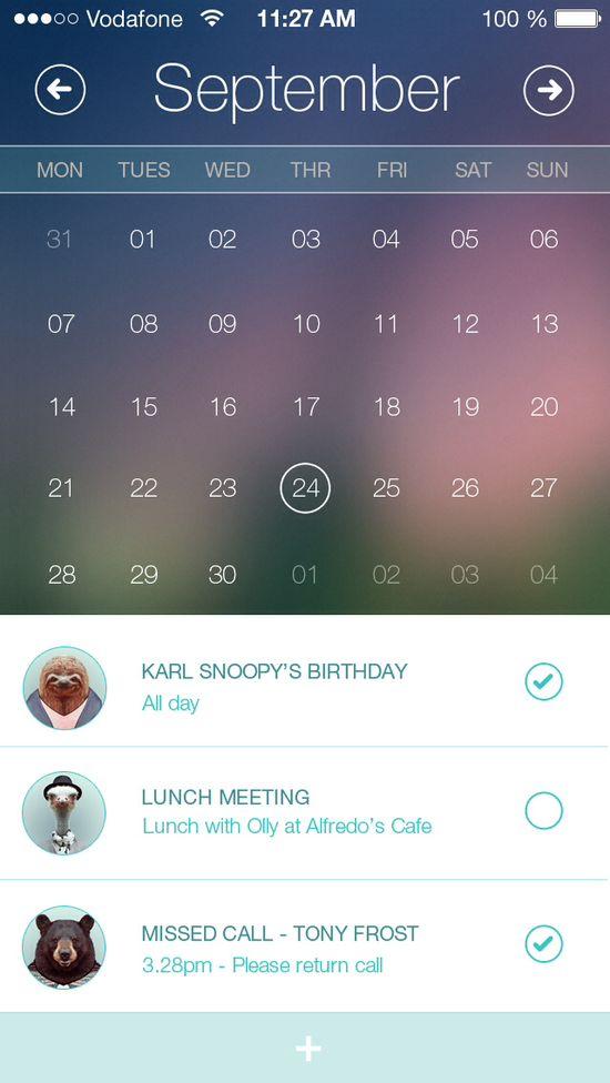 Calendar App - by Al Power