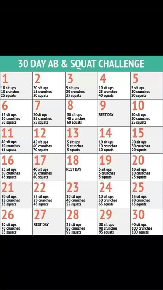 Another Exercise Challenge Ladies!!! Let's do this