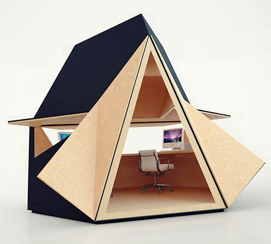 tent shaped office