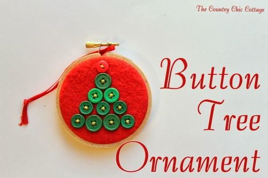 Handmade Gift Idea:  8 hoop ornaments