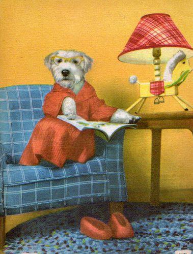 """""""Teddy the Terrier,"""" Rand McNally Elf Books (1956)"""