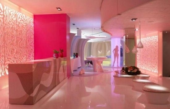 futuristic home interior decoration