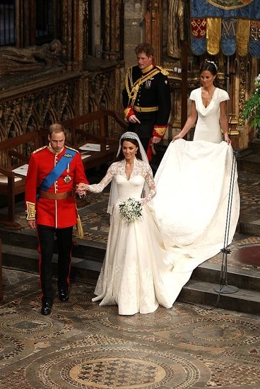 Prince William and Kate Middleton wedding April 29, 2011.