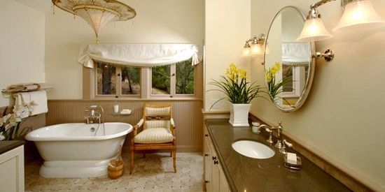 Bathroom Decorating With a Touch of Nature