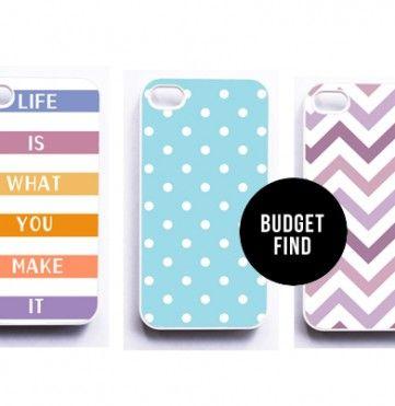 Budget Find: Cute iPhone Cases