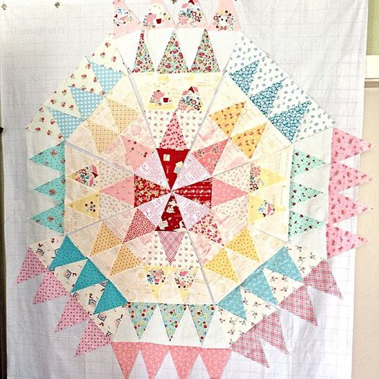 triangle piecing