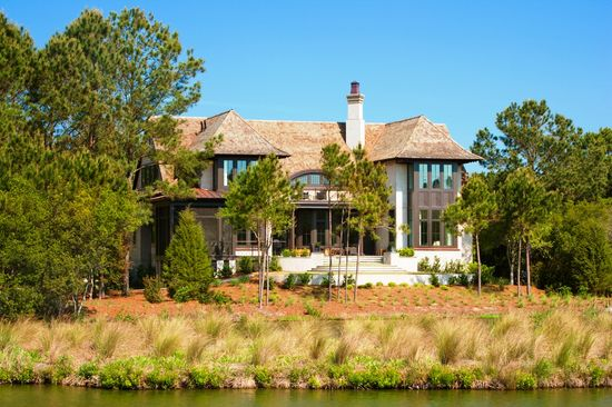 """English Angel"" - The 2012 BALA Home of the Year.  Architect: Wayne Windham.  Builder: Buffington Homes.  Interior Designer: Kathryn McGowan.  Photographer: Dickson Dunlap."