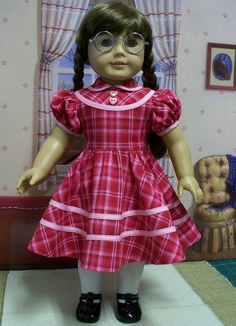 American girl doll-molly history doll
