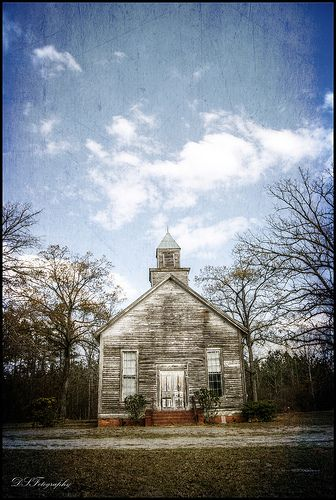 Cool...Old Country Church, Georgia