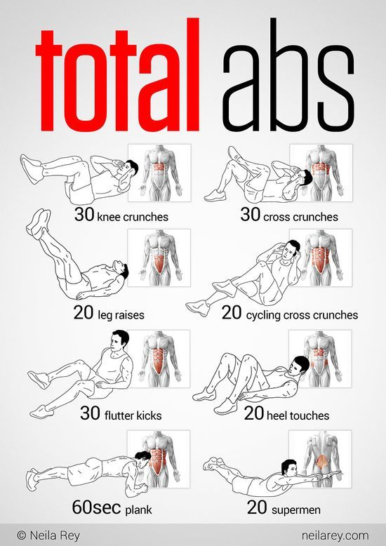 Total Abs #exercising #exercise #Workout Exercises #physical exertion #physical exercise