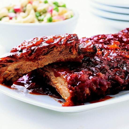 Serve these savory-sweet Honey 'n' Orange Ribs at your next barbecue! More of our best grilled pork recipes: www.bhg.com/...