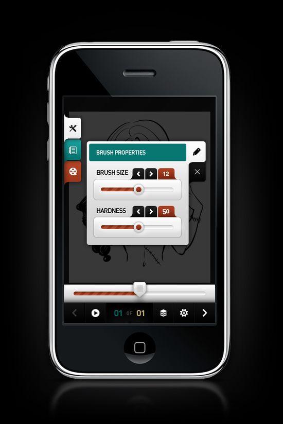 www.behance.net/... #iphone #ui
