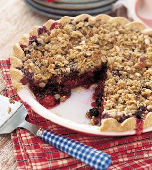 This is the best fresh berry pie ever.  Easy, yummy, fresh addition to any dessert offering.  Holidays, summer anytime.  Can be made with a Gluten Free crust and enjoyed by all!  TRY it!