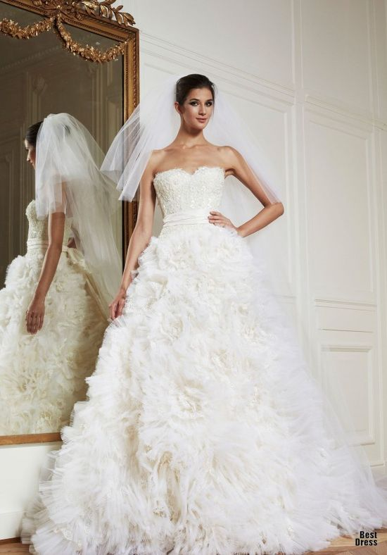 Zuhair Murad Wedding Dresses 2013 Zuhair Murad wedding dresses High Fashion featured fashion