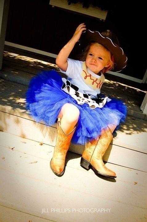 Cowgirl Tutu   Halloween Costume