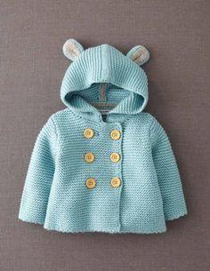 La siguiente chaqueta que haga llevaré orejitas...