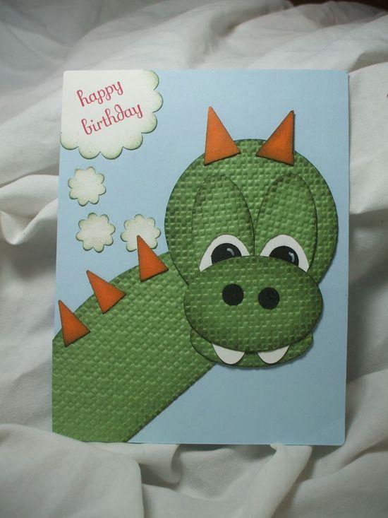 punch art card -- too cute