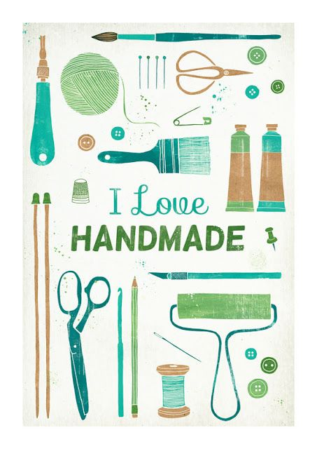 You better love handmade, too! Because that's what you are getting for every holiday :)