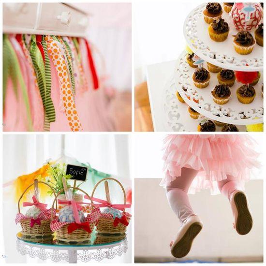 Rainbow Ballerina Party Full of Really Cute Ideas via Kara's Party Ideas