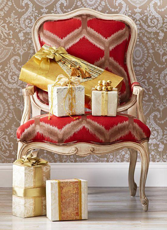 Gorgeous gift wrap!