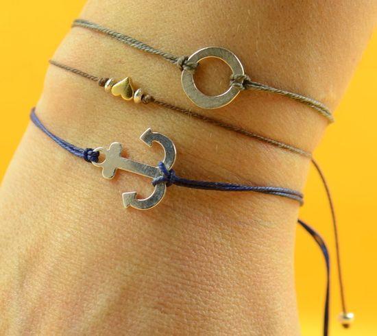 #etsy #anchor #bracelet