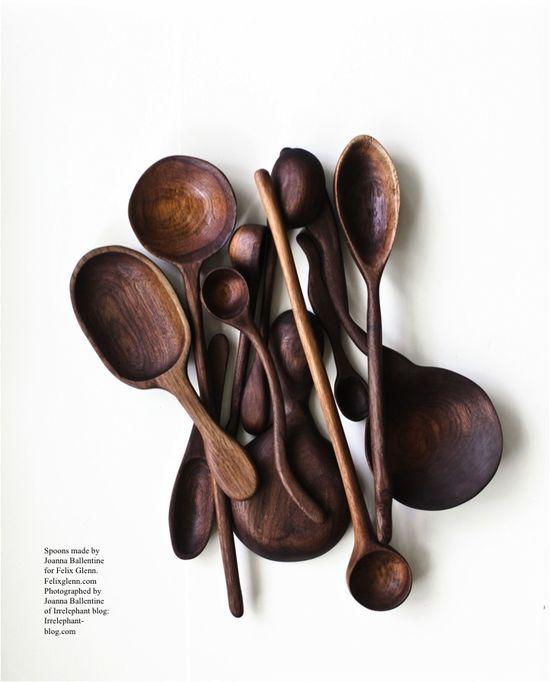 Felix glenn spoons. Hand made by Joanna Ballentine.