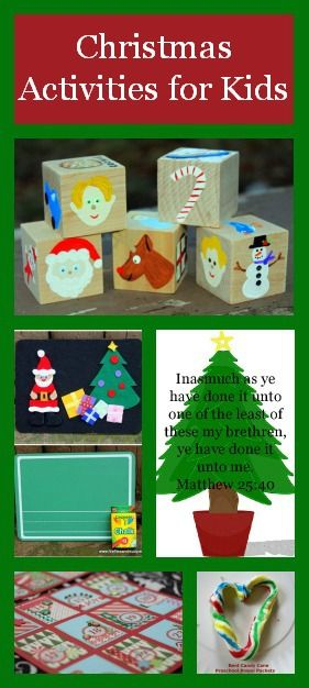 Christmas Activities for kids including Free Printables, Stocking Stuffer Ideas and More.