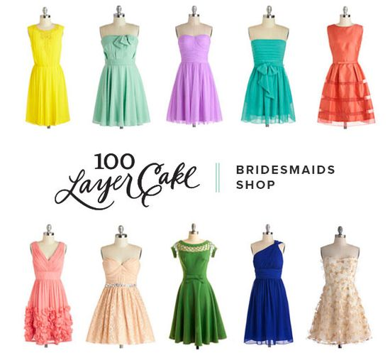 100 Layer Cake Bridesmaids Shop
