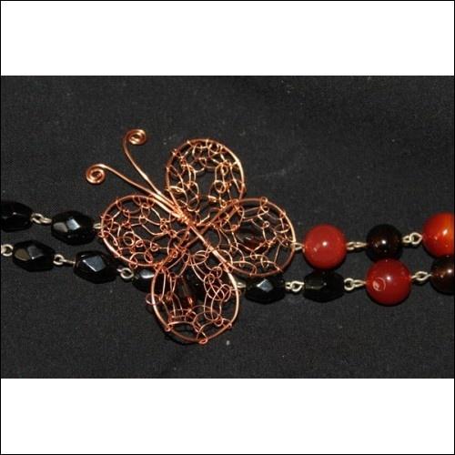 Butterfly Wire Jewelry Tutorial