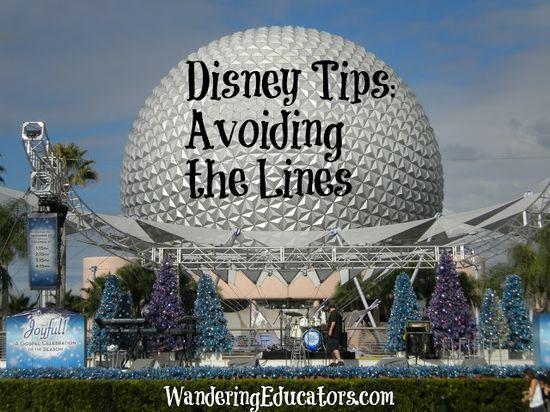 Disney Tips: Avoiding the Lines
