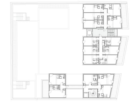 LAN architecture: student residence