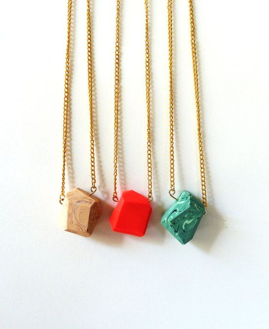 pendant necklaces.