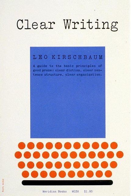 book cover by Elaine Lustig Cohen (1959)