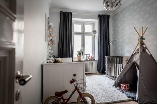 Scandinavian Kid's Room  Board