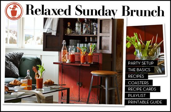Relaxed Sunday Brunch - home design ideas
