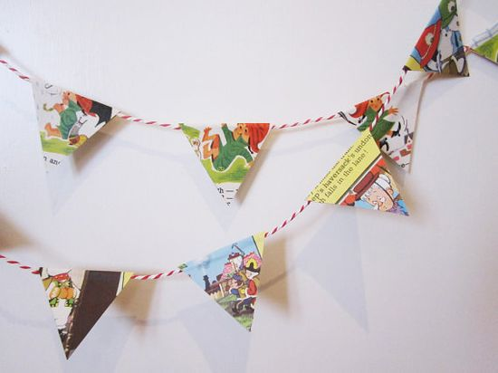 Paper bunting!