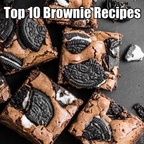 10 Uniquely Yummy Brownie Recipes (...my favorite out of this whole list is the tiramisu brownie recipe. these are amazing good!...)