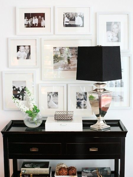 white on white frames