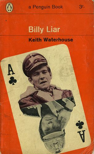 Vintage Billy Liar cover by Penguin Books.