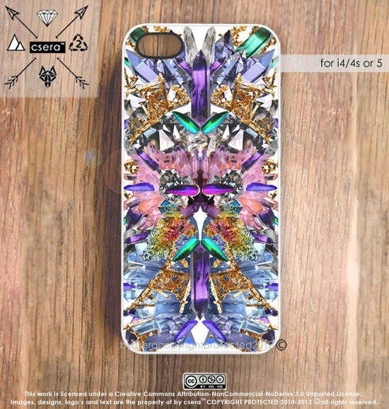 Silicone iPhone 4s Case  iPhone 5 Case iPhone 4 by casesbycsera, $19.99