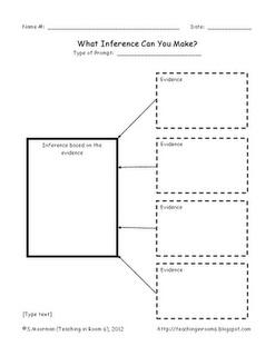 Infer (Picture lesson)