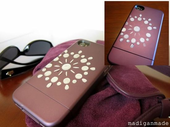 How NOT to Decorate a Cell Phone Cover {Craft FAIL alert} ~ Madigan Made { simple DIY ideas }
